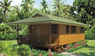 China 4bedroom, prova do ciclone, padrão australiano, Austrália, Europa, png exportou o aço claro que quadro o bungalow de madeira do projeto fornecedor