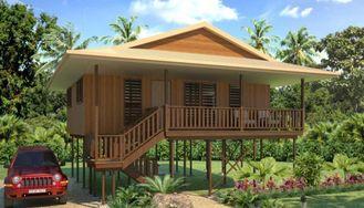 China Bungalow de madeira da casa de Tailândia dos feriados, bungalows da praia de Samui do Koh fornecedor