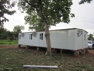 China Abrigo portátil branco/do amarelo emergência para abrigos da família, abrigos provisórios fornecedor