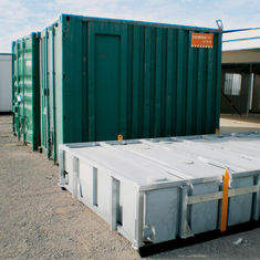 China Mini casa móvel do recipiente, casas modulares inteiramente terminadas de recipiente de armazenamento fornecedor