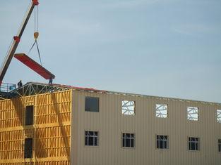 China Aço claro os prédios de apartamentos pré-fabricados, neve resistem a casa portátil fornecedor