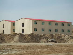 China Construções da casa pré-fabricada do baixo custo/construção comerciais do metal da casa pré-fabricada Saveing da energia fornecedor