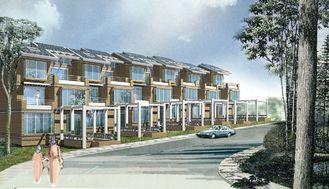 China Casa clara da casa de campo da construção de aço/casa do aço da casa pré-fabricada resistência do tufão fornecedor
