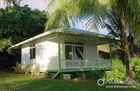 China Um bungalow de aço da praia do quarto, jogos pequenos da casa da casa pré-fabricada, fundação de aço clara fábrica