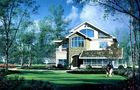 Casa pré-fabricada, casa de campo alta da isolação com PVC Windows deslizante