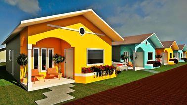 China O bungalow profissional da casa pré-fabricada do projeto dirige casas modulares modernas pequenas distribuidor