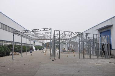 China As vertentes/carro de metal pré-fabricados impermeáveis derramam com armaçãos de aço galvanizadas distribuidor