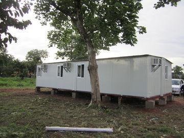 China Abrigo portátil branco/do amarelo emergência para abrigos da família, abrigos provisórios distribuidor