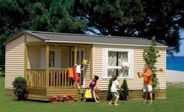 Roulottes do estilo de Europa, casa removível do feriado, casa dobrável