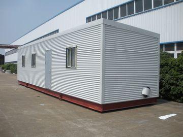 China Casas modulares da cabana rústica de madeira alta de Eco da isolação, casas modulares do registro da casa pré-fabricada verde distribuidor
