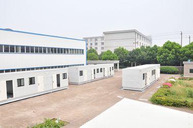 China Casas modulares terminadas 100% da casa pré-fabricada para o escritório, para o quarto distribuidor