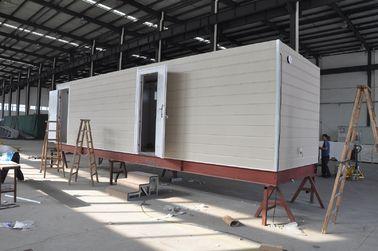 China Casa móvel da cabine da casa pré-fabricada/casas modulares casa pré-fabricada da armação de aço para a casa de protetor distribuidor