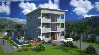 Prédios de apartamentos pré-fabricados da construção de aço de SOHO, apartamentos pré-fabricados