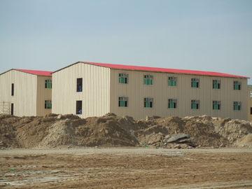 Construções da casa pré-fabricada do baixo custo/construção comerciais do metal da casa pré-fabricada Saveing da energia
