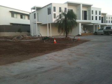 O andar prédios de apartamentos/dois pré-fabricado de aço do baixo andar pré-fabricou construções