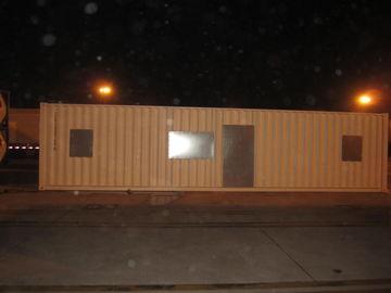 China Casas modulares modernas do Após-Desastre largo, jogos de aço claros da casa modular distribuidor