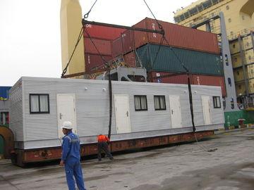 China O arquiteto projetou casas modulares/tabernáculo modular largo de aço da luz distribuidor
