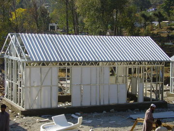 China Rápido monte a casa pequena da armação de aço da casa pré-fabricada/plano australiano portátil da avó para viver distribuidor