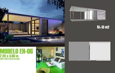 O móvel moderno acentua a casa do feriado/pré-fabricou o estúdio do jardim para a vida do feriado